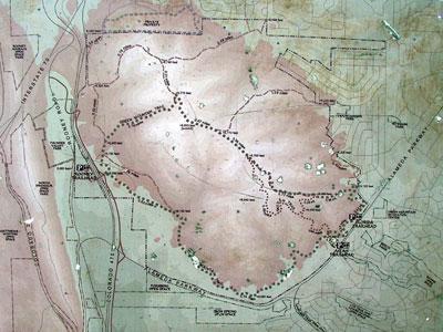 Denver Mountain Bike Trail Guide